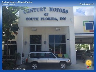 Subaru : Forester Auto AC L Low-Miles AWD Salt Free Subaru Forrester Roof-Rack Low-Miles Non Smokers CD Player All Wheel Drive AWD