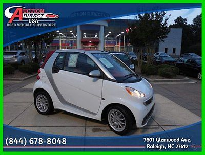 Smart : fortwo 2013 Smart Fortwo Low Miles Clean Economy Loaded 2013 smart fortwo cabriolet passion 1 l automatic rwd convertible 38 mpg hwy