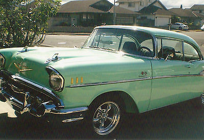 Chevrolet : Bel Air/150/210 2-Door Coup Emaculate Classic Mint Green 1957 Chevy!