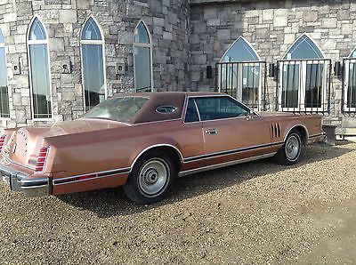 Lincoln : Mark Series 1978 lincoln continental mark v cartier original owner