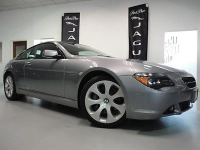 BMW : 6-Series 645Ci SPORT PACKAGE NAVIGATION LOCAL TRADE