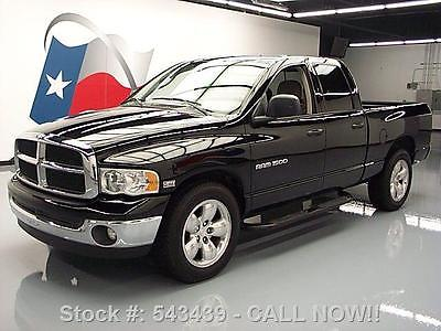 Dodge : Ram 1500 QUAD SLT 5.7L HEMI SIDE STEPS 20'S 2004 dodge ram 1500 quad slt 5.7 l hemi side steps 20 s 543439 texas direct auto