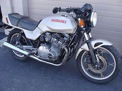 Suzuki : GS 1982 suzuki gs 1100 e unmolested stock motorcycle california runs great