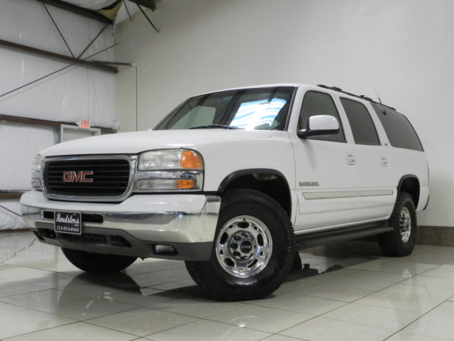 GMC : Yukon 4dr 2500 4WD GMC YUKON XL SLT AUTORIDE 4X4 8.1L V8 TOW 3RD ROW TV/DVD/VCR