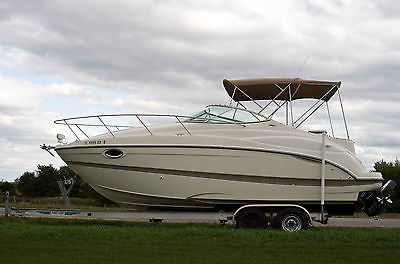 2001 Maxum 2500 SCR Boat Cruiser 12 person 5.7 Mercruiser only 265 hours