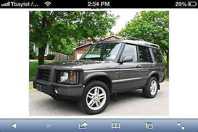 Land Rover : Discovery SE 2003 land rover discovery ii se 4.6 l grey damaged see description