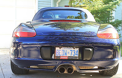 Porsche : Boxster S 2003 porsche boxster s 3.2 l 99 k excellent condition no winters