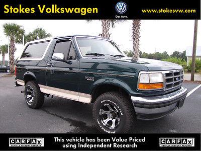 Ford : Bronco Eddie Bauer Sport Utility 2-Door 1993 ford bronco eddie bauer sport utility 2 door 5.8 l