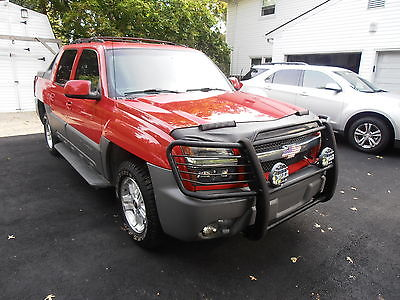 Chevrolet : Avalanche Z71 02 chevy avalanche crew cab z 71 4 x 4 fully loaded original owner low miles