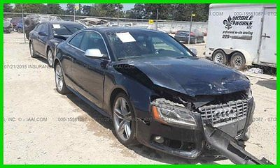 Audi : S5 4.2 Premium Plus 2010 4.2 premium plus used 4.2 l v 8 32 v for sale repairable damage