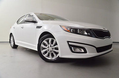 Kia : Optima 4dr Sedan EX 4 dr sedan ex low miles automatic gasoline 2.4 l 4 cyl snow white pearl