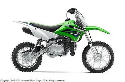 Kawasaki : KLX New 2014 Kawasaki KLX110L  dirt bike off road motorcycle