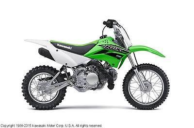 Kawasaki : KLX New 2015 Kawasaki KLX110  dirt bike off road motorcycle