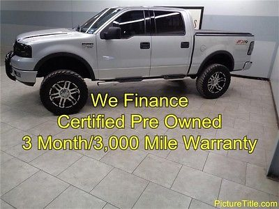 Ford : F-150 FX4 4WD Lifted LongHorn 04 f 150 fx 4 4 x 4 lifted wheels mud tires longhorn edtn warranty we finance texas