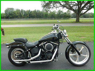 Harley Davidson Softail 1999 Nightrain Customm Paint Custom Wheel Sweet Ride