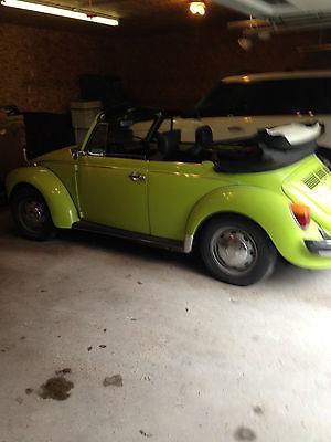 Volkswagen : Beetle - Classic 2 dr Convertible 1974 volkswagen super beetle karmann convertible