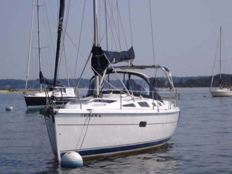 2003 Hunter 356 Sailboat