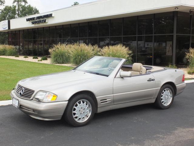 Mercedes-Benz : SL-Class Convertible 1998 mercedes sl 500 conv looks runs drives very good two tops low reserve