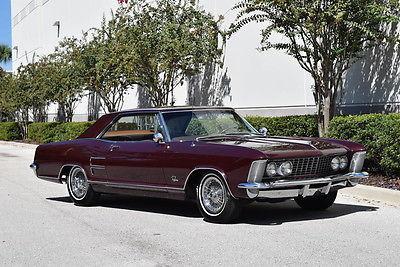 Buick : Riviera 1964 riviera show winner rare factory dual quads
