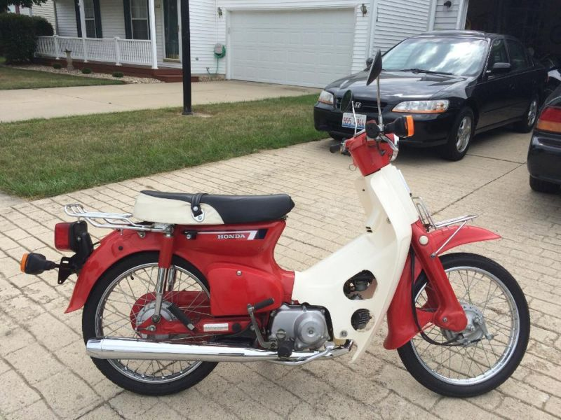 Honda Dealers Illinois >> 1983 Honda Passport 70 Motorcycles for sale