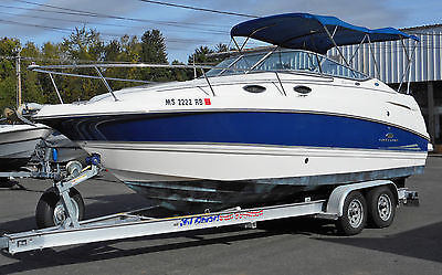 2006 Chaparral 24ft. Signature 240 Cruiser with Volvo Penta 5.7L & Trailer