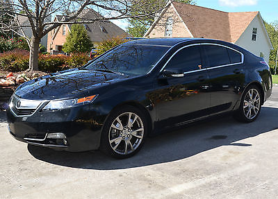 Acura : TL SH-AWD with Advance Package 2013 acura tl sh awd advance package navigation 3.7 l 305 hp v 6 excellent cond