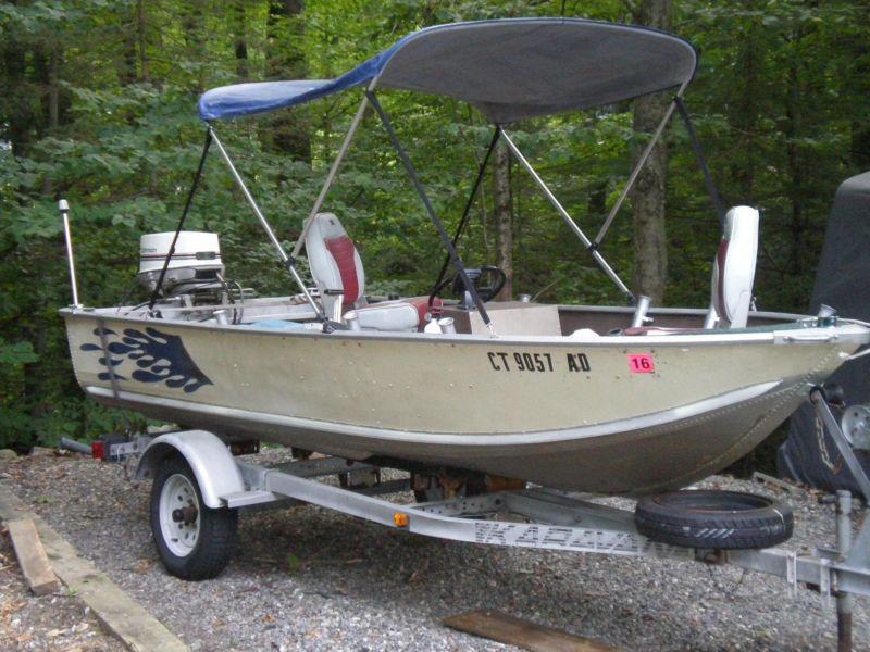 84 Sea Nymph fishing boat 30hp