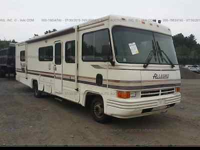1994 TIFFIN ALLEGRO; CLEAN TITLE; INTERIOR BURN; FOR SALE CHEAP