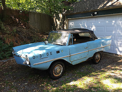 Other Makes : 770 1964 amphicar barn find