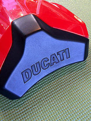 Ducati : Other Brand New Factory Ducati 848 Passenger Carbon Seat Cover Red Cover Italy