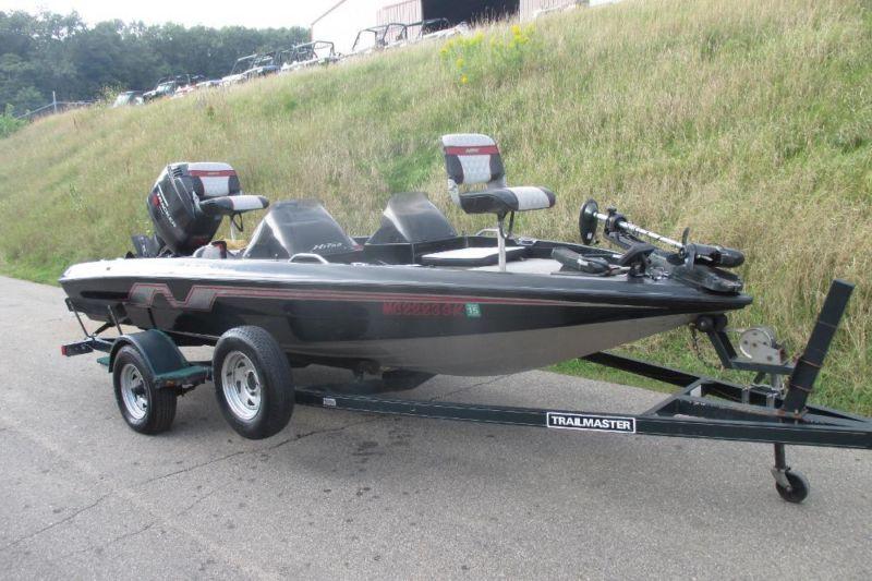 1995 Nitro 170 DC Bass Boat w/115 Horsepower Mercury Tracker!
