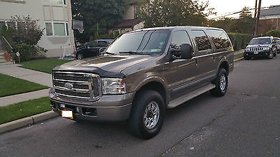 Ford : Excursion Limited Sport Utility 4-Door 2005 ford excursion limited sport utility 4 door 6.0 l loaded