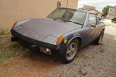 Porsche : 914 2.0 1974 porsche 914 base coupe 2 door 2.0 l for parts or restoration