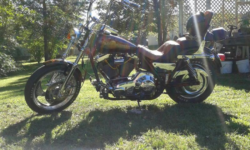 Custom Harley LOW RIDER
