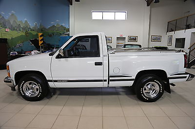 Chevrolet : C/K Pickup 1500 C/K 1500 1994 chevrolet siverado sport side pick up truck