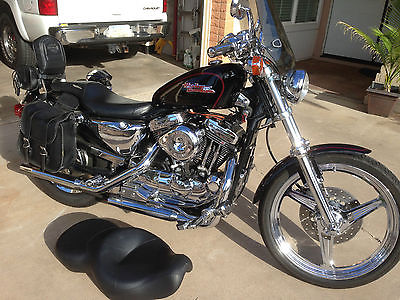 Custom Built Motorcycles : Other 1999 harley xl 1200 custom deluxe sportster high performance engine