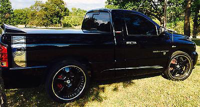 Dodge : Ram 1500 SRT-10 Standard Cab Pickup 2-Door 2004 dodge ram srt 10