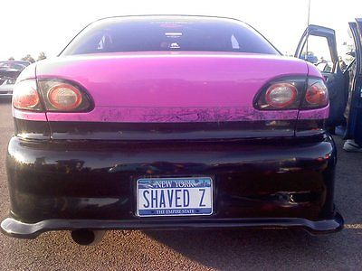 Chevrolet : Cavalier z24 1997 cavalier z 24 2.4 2000 conversion pink black shaved custom rims system, 2
