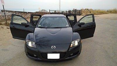 Mazda : RX-8 6-speed manual 2004 mazda rx 8 low miles extended warranty