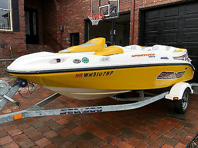 2004 Sea-Doo Sportster 4-Tec jet boat and trailer - looks and runs great!