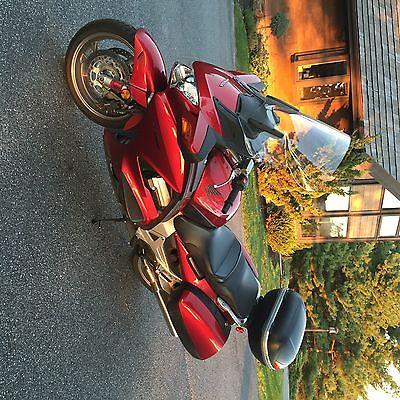 Honda : Other Honda st 1300 sport touring   Burghandy fairing and saddlebags