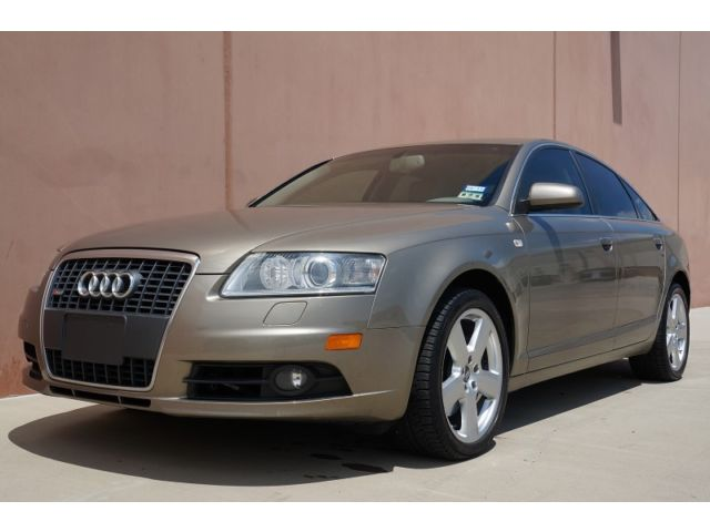 Audi : A6 3.2L S-LINE 08 audi a 6 3.2 s line sport sedan 2 owner accident free texas vehicle xtra clean