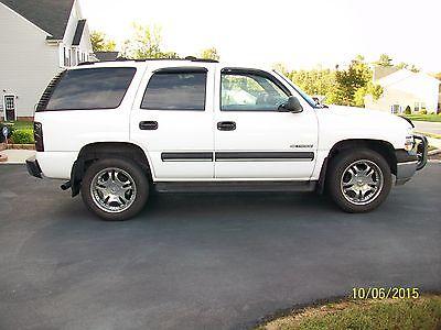 Chevrolet : Tahoe LS Sport Utility 4-Door 2001 chevrolet tahoe ls sport utility 4 door 5.3 l