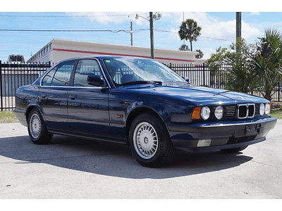 BMW : 5-Series Base Sedan 4-Door 1989 bmw 525 i base sedan 4 door 2.5 l