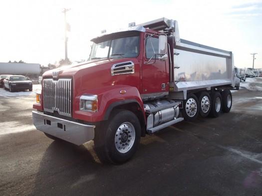 2013 Western Star W4700sf Quad-Axle Dump Truck