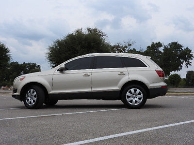 Audi : Q7 quattro 4dr 3.6L Premium quattro 4dr 3.6L Premium SUV Automatic Gasoline 3.6L V6 Cyl TAN