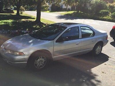 Dodge : Stratus SE Sedan 4-Door 2000 dodge stratus es 4 door sedan silver 4 cylinder 158 00 miles