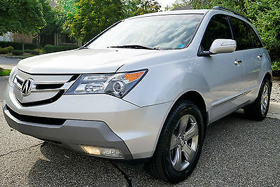 Acura : MDX SH-AWD 2008 acura mdx sh awd tech and sport packages single owner clean title