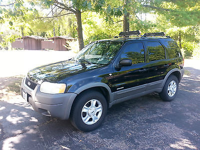 Ford : Escape XLT Sport Utility 4-Door 2001 ford escape 3.0 v 6 xlt black limited