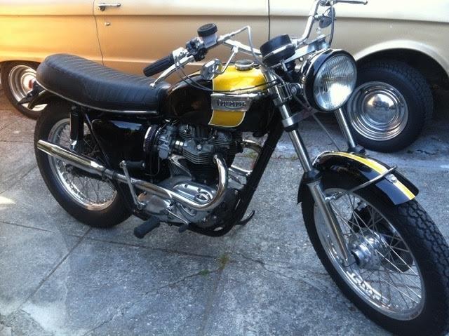 1966 Triumph Bonneville 650 Motorcycles For Sale